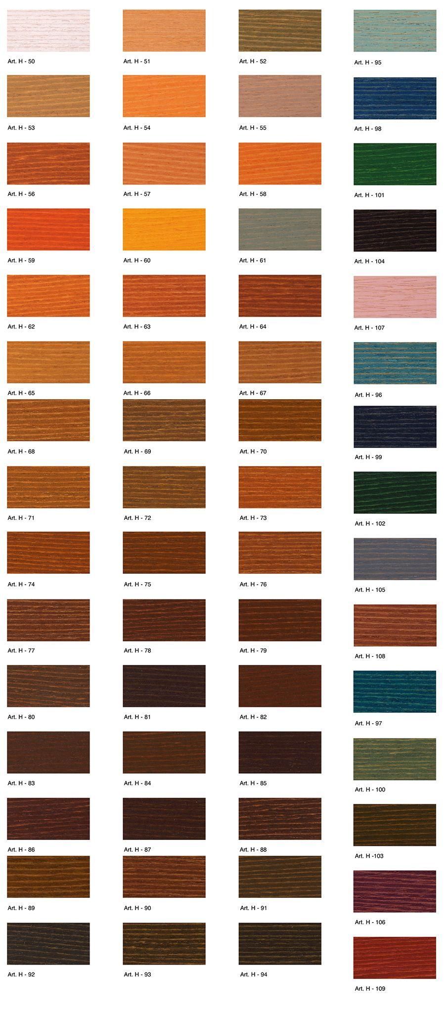 hidrowood-colors